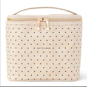 Kate Spade Beige Insulated Lunch Tote